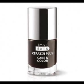 My Nails Keratin Plus Care & Color 012 ROUGE NOIR