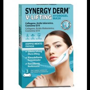 Synergy Derm® V-Lifting Hydrogel Mask - 3 trattamenti monouso
