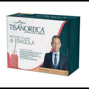 Tisanoreica BEVANDA GUSTO FRAGOLA 4 PAT da 28,5g.