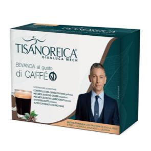 Tisanoreica BEVANDA GUSTO CAFFÈ VEGAN 4 PAT da 28,5g.