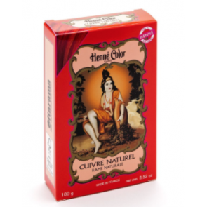 Sitarama Polvere Hennè naturale - Rame - Cuivre 100gr