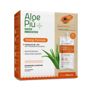 PromoPharma Aloe Più Energy Formula 10 pouch of 50 ml