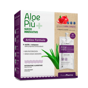 PromoPharma Aloe Più Antiox Formula 10 pouch of 50 ml