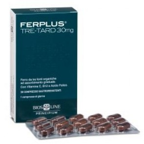 Bios Line FerPlus Tre-Tard 30mg 30 compresse