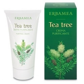 Erbamea Tea Tree Crema purificante 50 ml