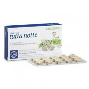 Bios Line VitaCalm Tutta Notte 30 compresse a doppio rilascio fast/retard