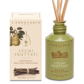 L'Erbolario Fragrance for Scented Wood Sticks Fruity Woodsi 125 ml