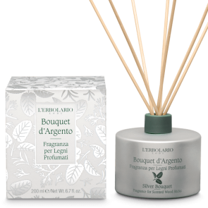 L'Erbolario Fragrance for Scented Wood Sticks Silver Bouquet 200 ml