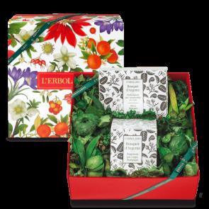 L'Erbolario Home Gift Box Silver Bouquet