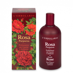 L'Erbolario Spray Fragrance for Cushions and Rooms Purple Rose 125 ml