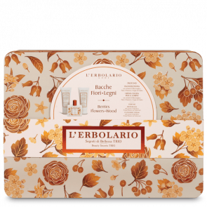 L'Erbolario Beauty Secrets TRIO Berries Flowers Wood Limited edition