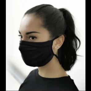 GUAM Water-repellent Bacteriostatic Filter Mask BLACK