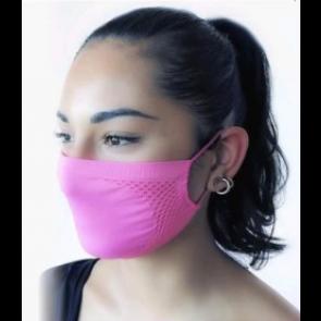 GUAM Water-repellent Bacteriostatic Filter Mask FUCHSIA