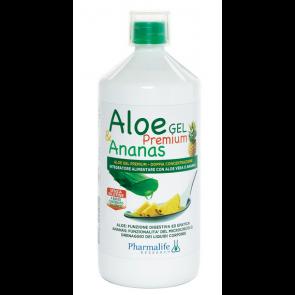 Pharmalife Research - Aloe Gel Premium & Pineapple - 1 L