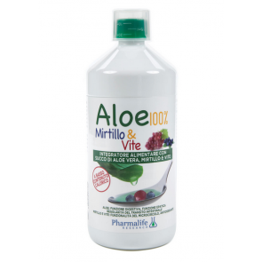 Pharmalife Research - Aloe 100% Blueberry & Vine - 1 L