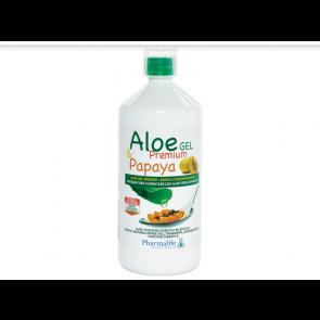 Pharmalife Research - Aloe Gel Premium & Papaya - 1 L