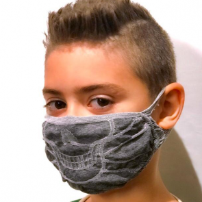 GUAM Masque filtrant hydrofuge bactériostatique pour ENFANT - Fluoro Free -