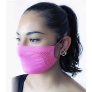 Masque filtrant bactériostatique hydrofuge GUAM FUCHSIA
