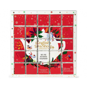 English Tea Shop Calendrier de l'Avent Bio - Noël Rouge