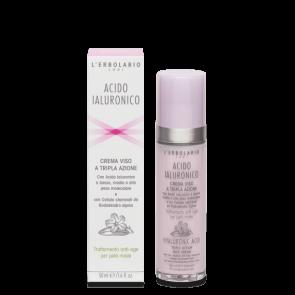 L'Erbolario Gesichtscreme mit Dreifachwirkung für Mischhaut 50 ml